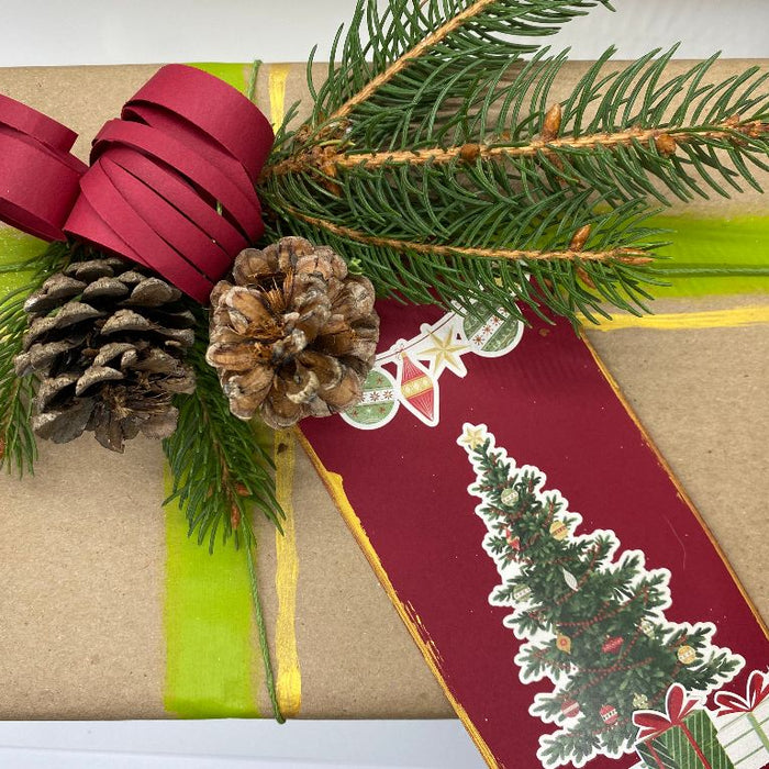 Eco Friendly Christmas Gift Wrapping