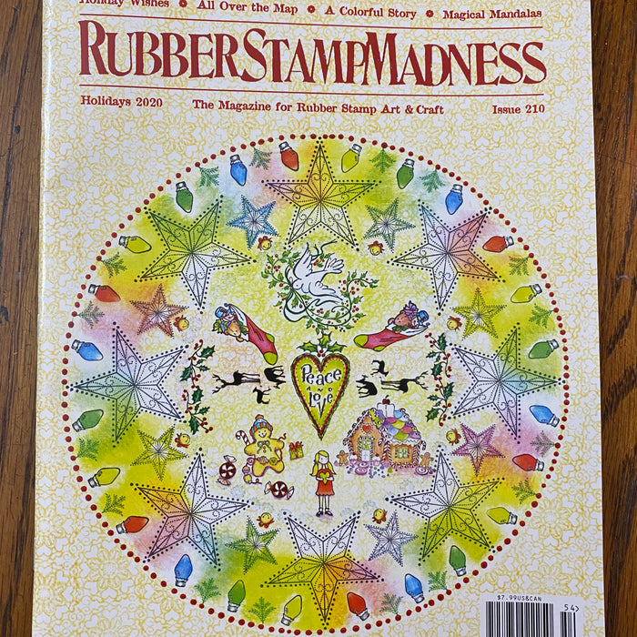 We're in Rubber Stamp Madness Magazine!!