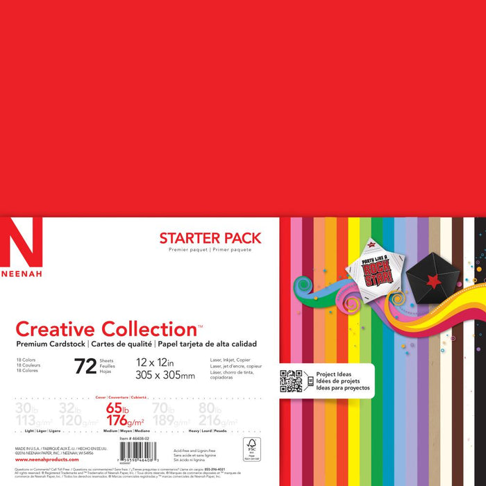 Neenah Creative Collection Cardstock Pack