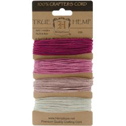 Hemptique Hemp Cord Card Ruby