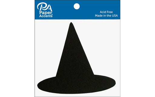 Paper Accents Chip Shape Witches Hat