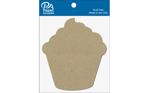 Paper Accents Chip Shape Cupcake