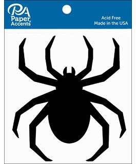 Paper Accents Chip Shape Spider