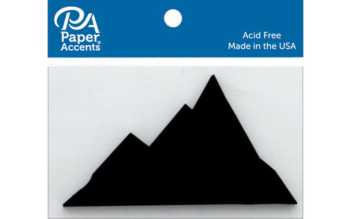 Paper Accents Chip Shape Mountains
