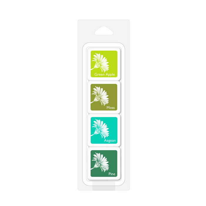 Hero Arts Rain Forest Bold Ink Cubes