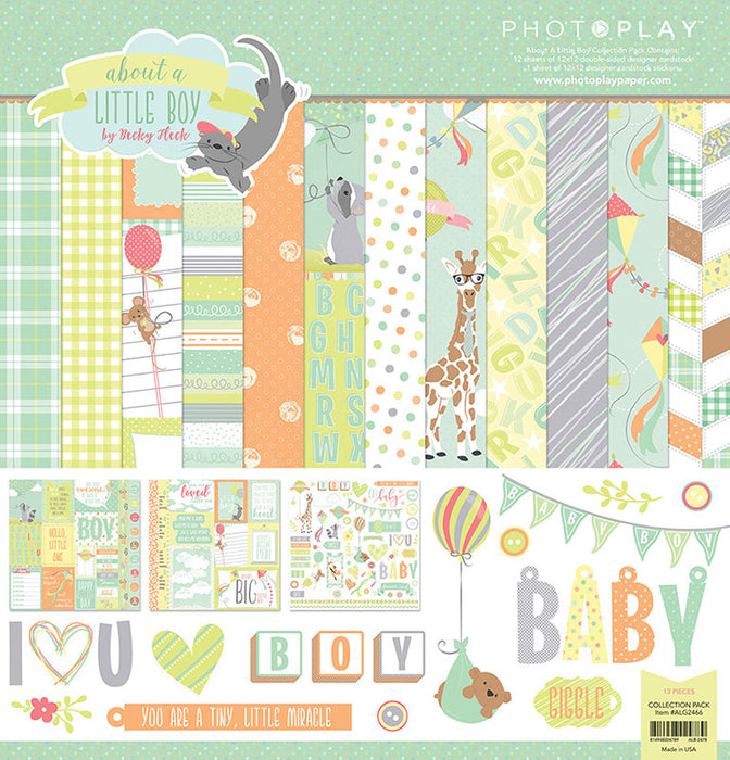 Photoplay All About a Boy 12 x 12 Collecton Pack