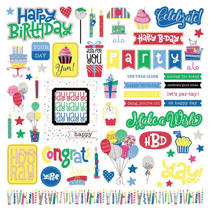 Photoplay Confetti 12 x 12 Collection Pack