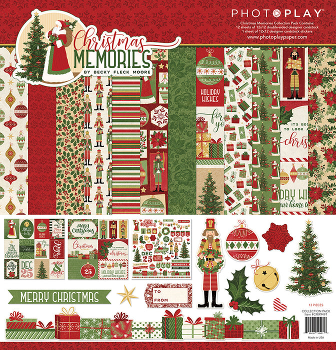 Photoplay Christmas Memories 12 x 12 Collection Pack