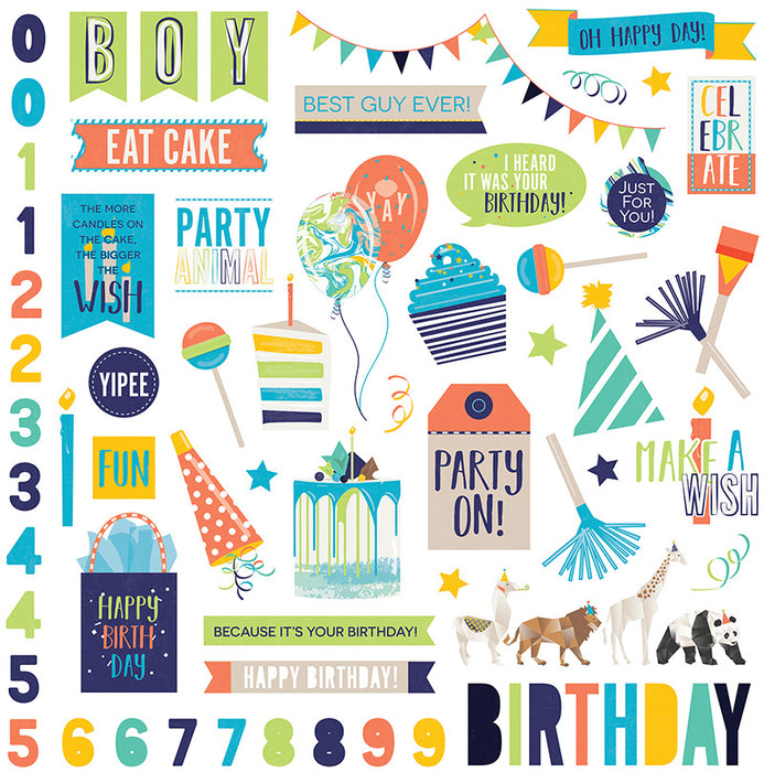 Photoplay Cake Party Animal 12 x 12 Mini Collection Pack