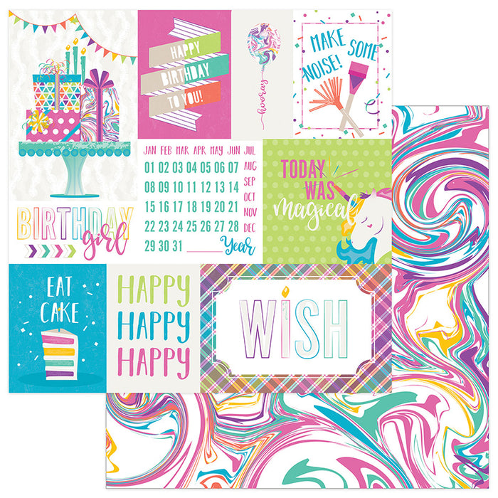 Photoplay Cake Rainbow Sprinkles 12 x 12 Mini Collection Pack