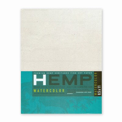 Hemp Watercolor Pack 8.5x11