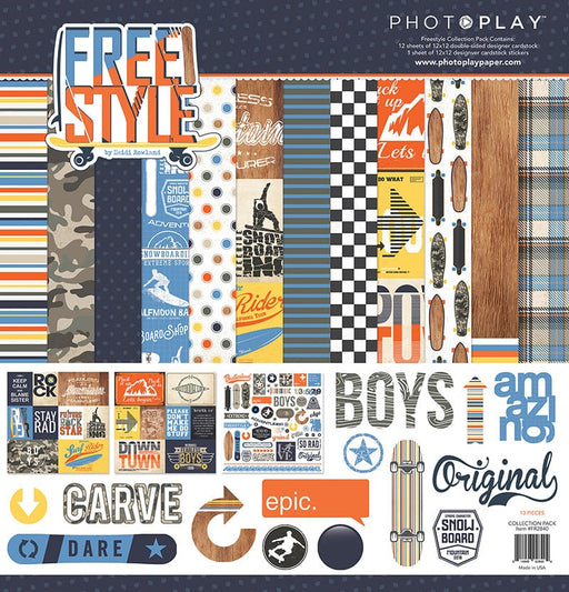 Photoplay Free Style 12 x 12 Collection Pack