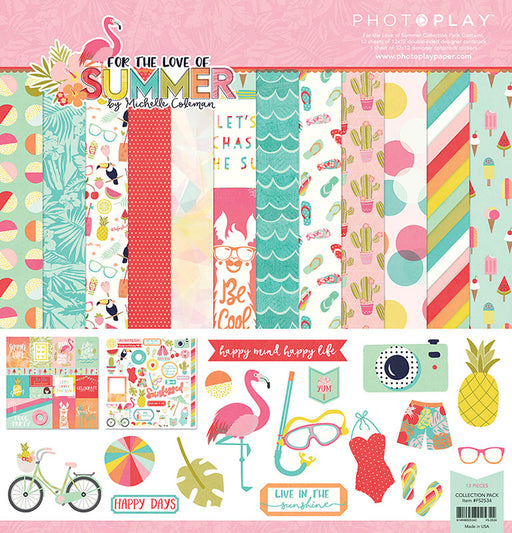 Photoplay For the Love of Summer 12 x 12 Collection Pack