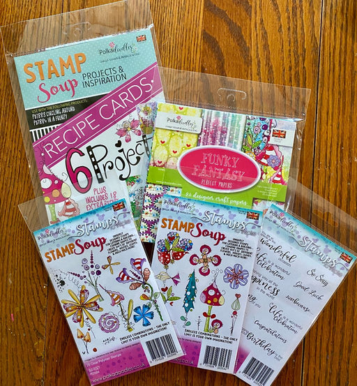 Polkadoodles Stamp Soup Bundle!