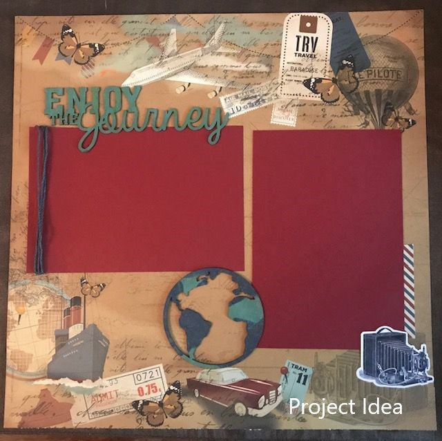 Photoplay Here and There 12 x 12 Collection Pack