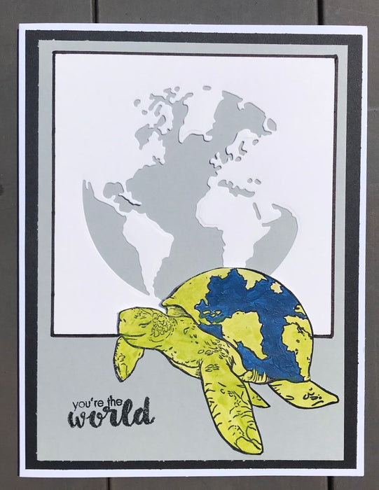 Hero Arts Carry the World Stamp Set