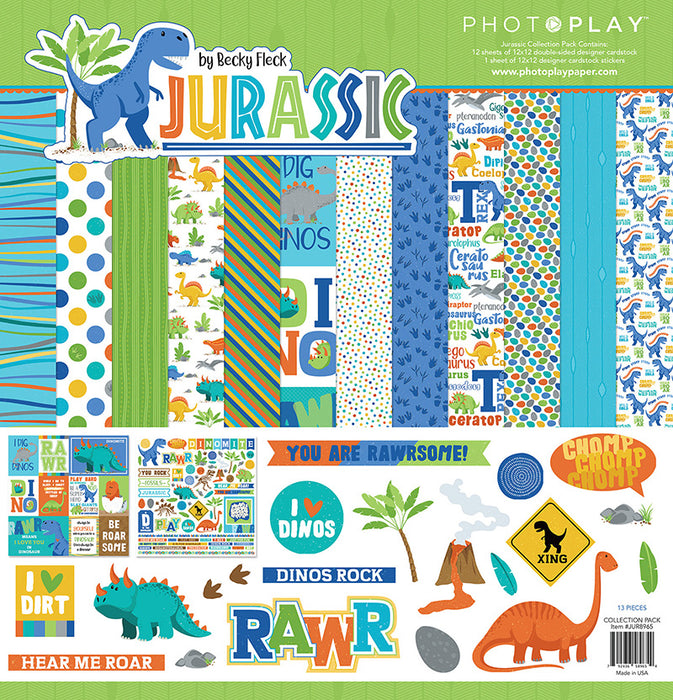 Photoplay Jurassic 12 x 12 Collection Pack