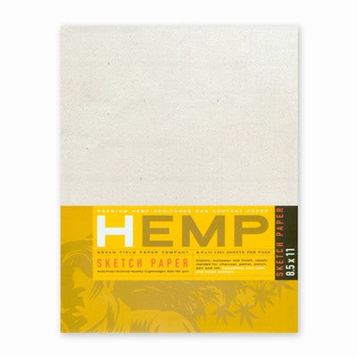Hemp Sketch Pack 8.5x11