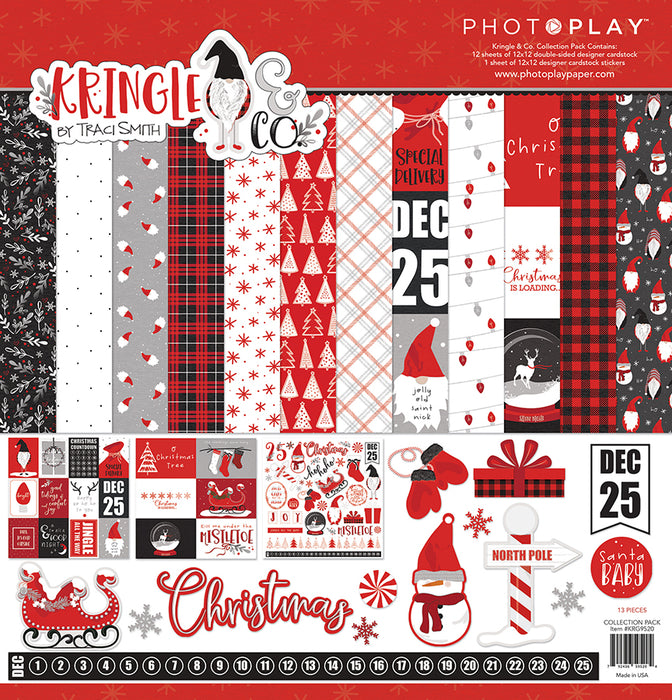 Photoplay Kringle & Co 12 x 12 Collection Pack
