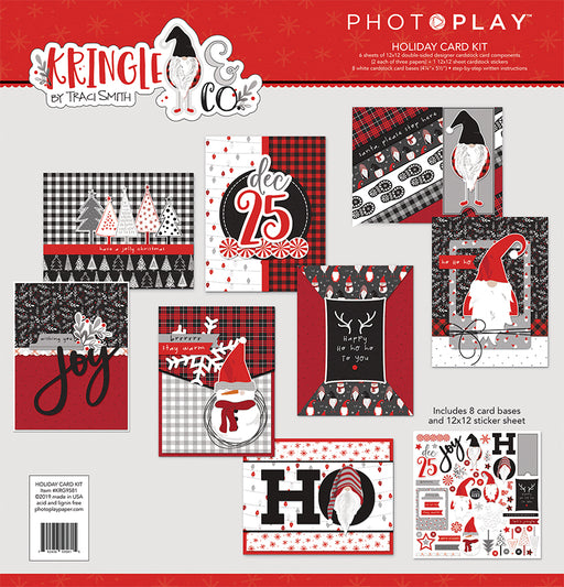Photoplay Kringle & Co Christmas Card Kit