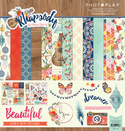 Photoplay Rhapsody 12 x 12 Collection Pack