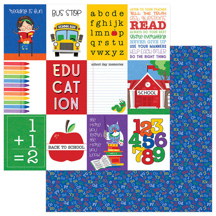 Photoplay School Days 12 x 12 Collection Pack