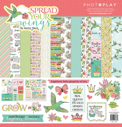 Photoplay Spread Your Wings 12 x 12 Collection Pack