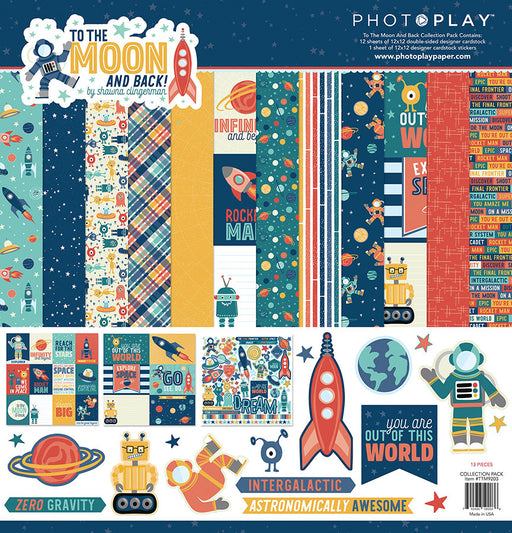 Photoplay To the Moon and Back 12 x 12 Collection Pack