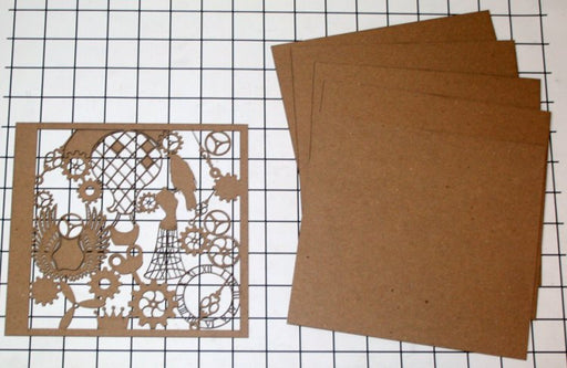 Gypsy Soul Cutout Cover Mini Steampunk Album