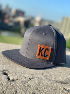 Saddle Tan KC Snap Back