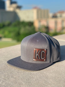 Stormy Grey KC Flat Bill