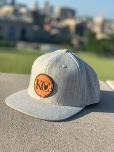 Heather Grey KC Wolf Snap Back