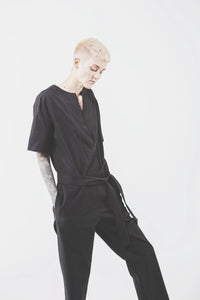 Wolf and Candor The Ford Jumpsuit in Black