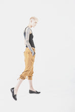 Wolf + Candor - Gold Drop Crotch Pants