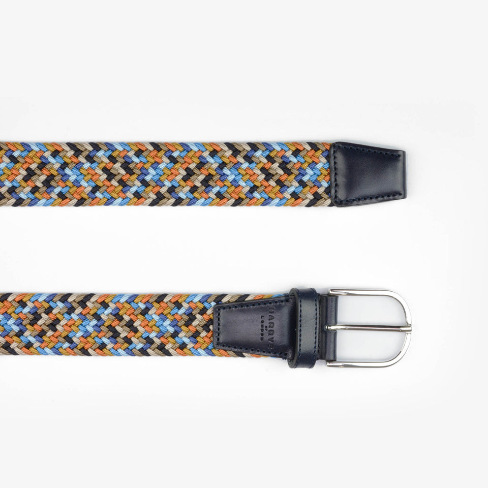 Woven Belt Rayon Multi 35mm