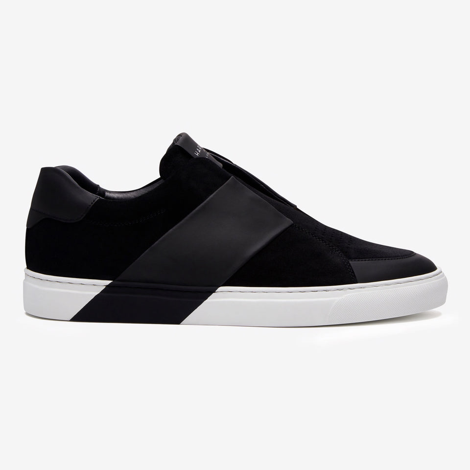 Bolt Suede/Tech Leather Black