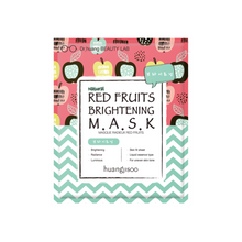 Load image into Gallery viewer, Red Fruits Brightening Sheet Mask * 5ea