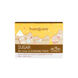 Sugar No:rinse Cleansing Pads