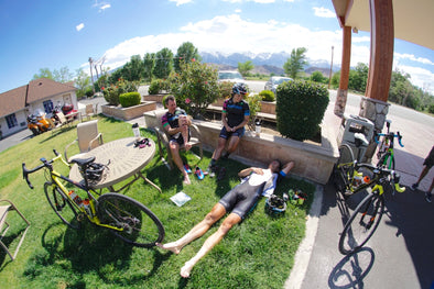 #Ride2Mammoth, Day 2: Amanda and the Team Face Heat in the High Desert