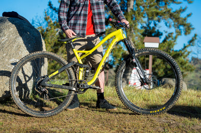 Check, Check, Bike Check with Kirt Voreis and his Niner trail bikes