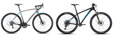Niner News: Two bikes make a comeback. Bright new color options and new Star Builds now available.