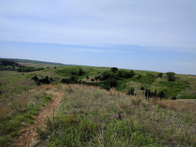 A Mountain Bike Detour in Kansas