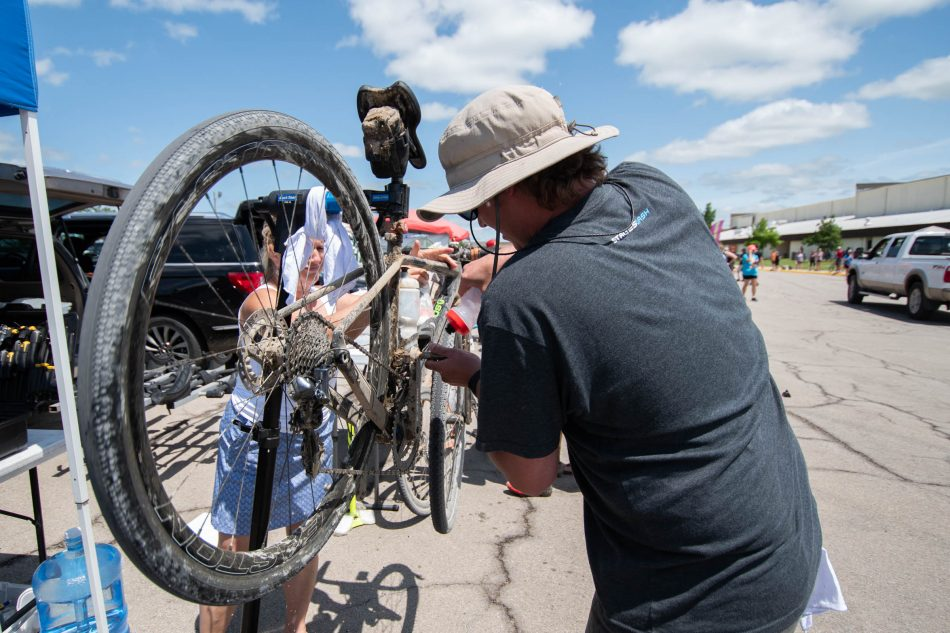Aid Station bike fix