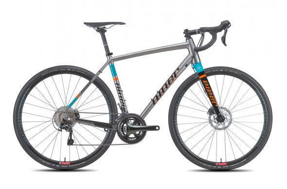 Niner's RLT 9, the original gravel bike in Niner's gravel bike line.