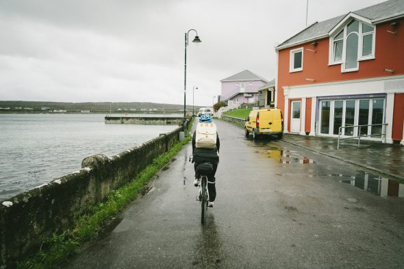 Country bike riding in Ireland