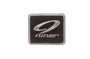 Niner Patch - Black