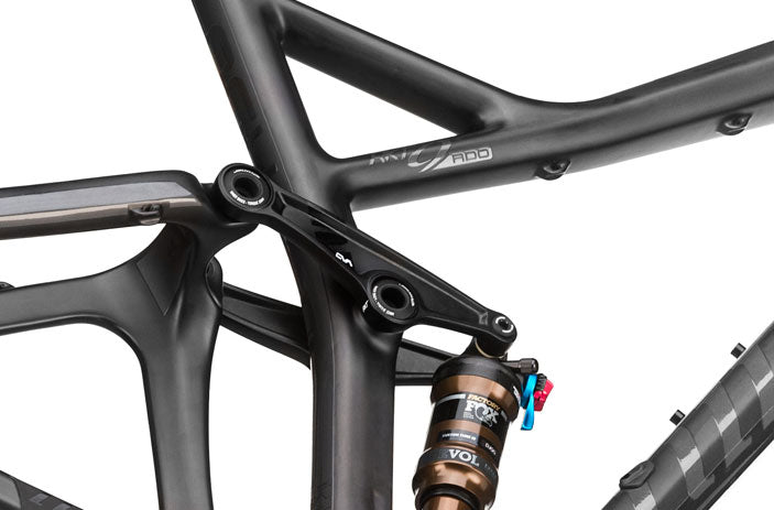Close up on the RKT 9 RDO frame