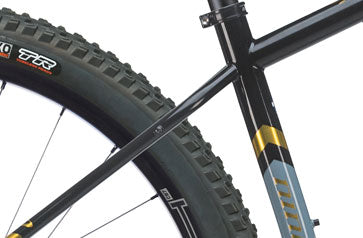 Frame close up of the SIR 9 Mountain Bike
