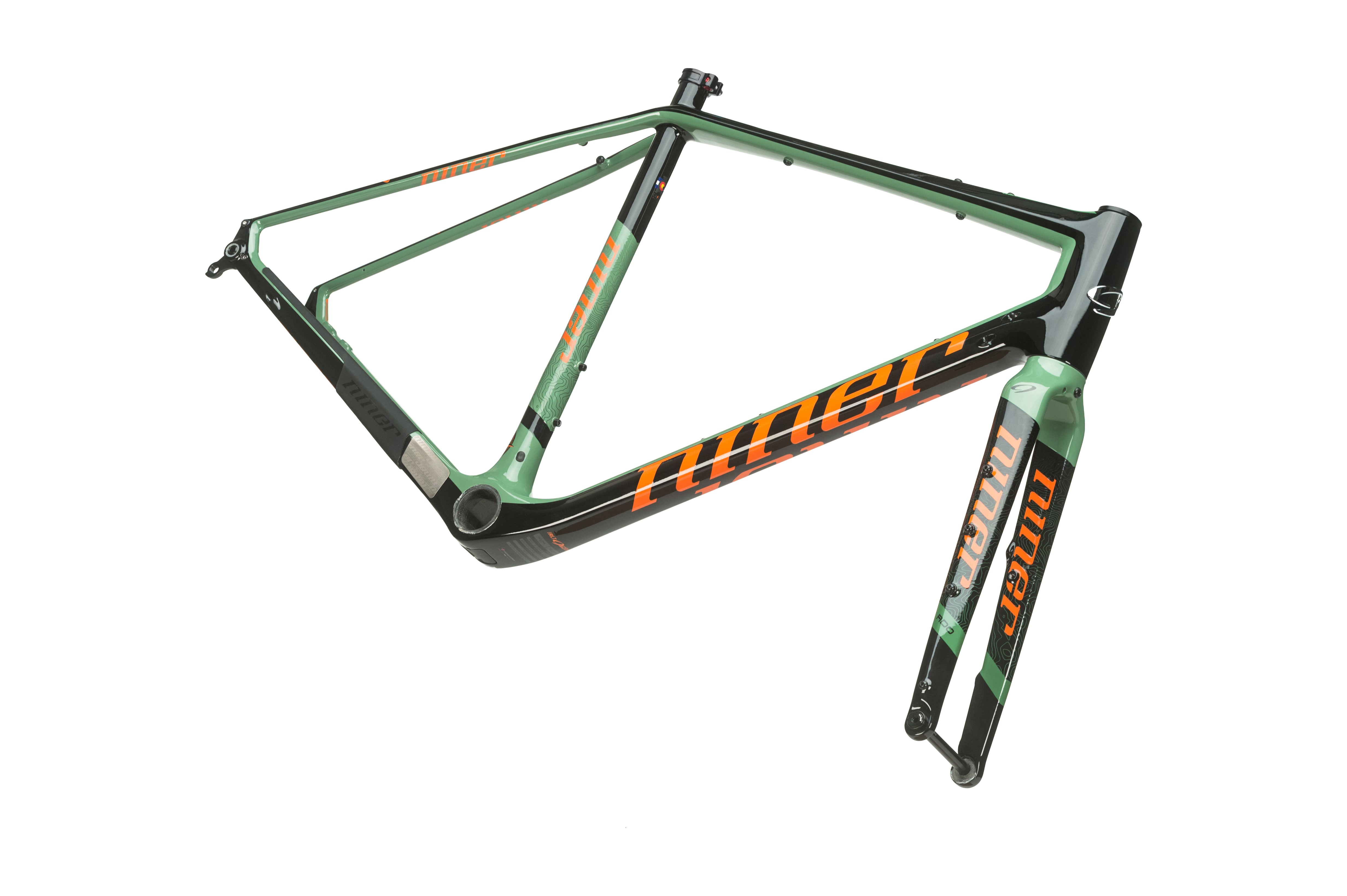 Frame of the RLT 9 RDO gravel bike