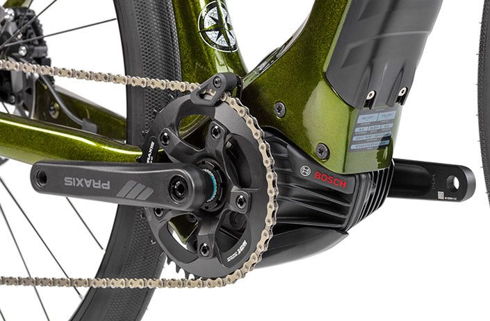Close up on the AIR 9 Mountain Bike